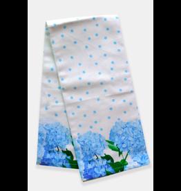 Paint & Petals Hydrangea Tea Towel
