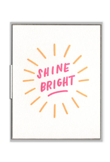 Ink Meets Paper Shine Bright Card