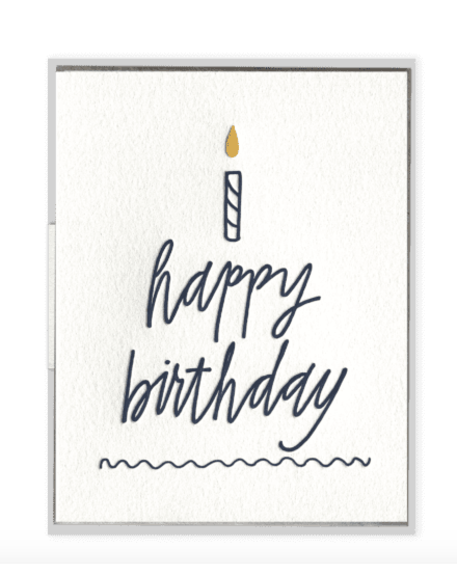 Ink Meets Paper Happy Birthday Cake Card
