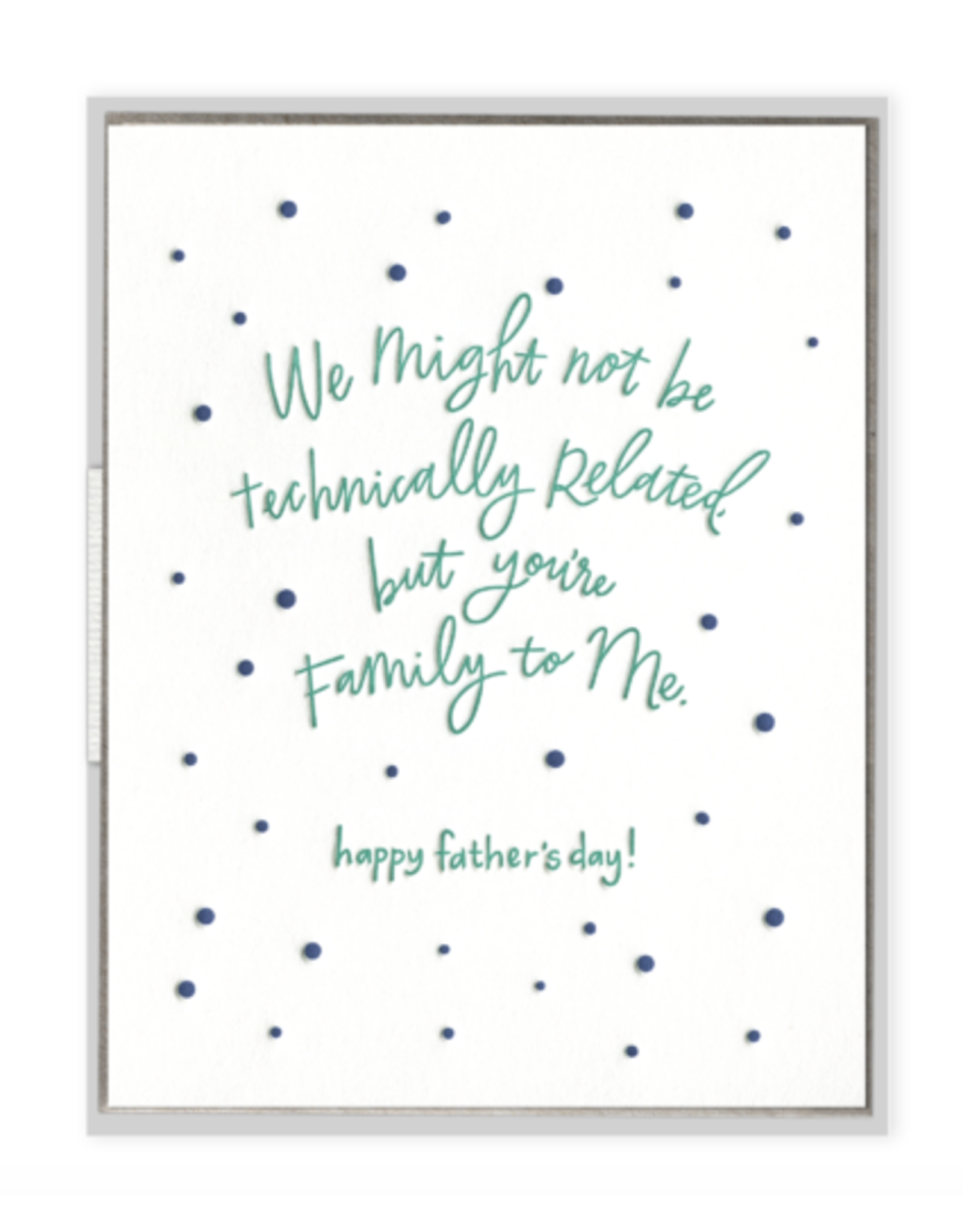 Ink Meets Paper Family to Me Father's Day Card