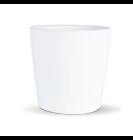 "Decor Shop at Junebug White Tapered Pot 2.75"" x 2.5"""