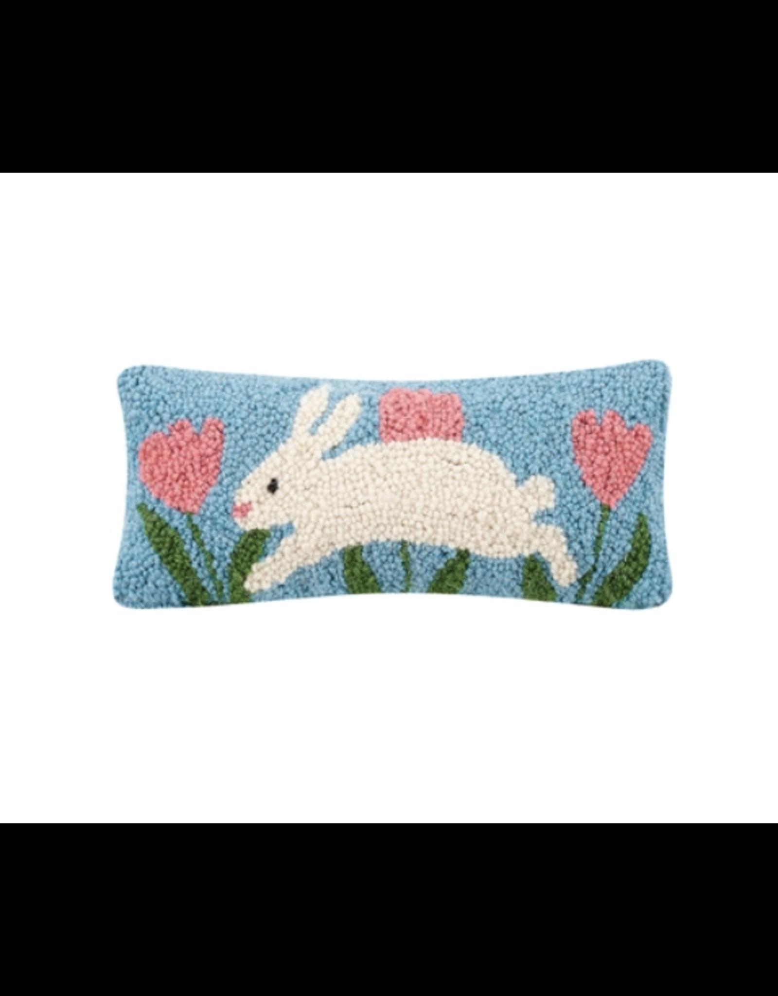 Peking Handicraft Bunny Hop Hook Pillow