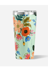 Corkcicle Tumbler 16oz Glossy Mint Lively Floral