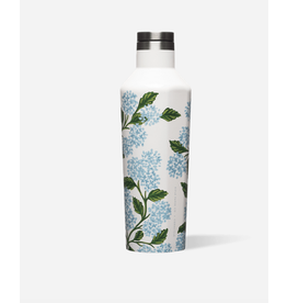Corkcicle Canteen 16oz Gloss Cream Hydrangea