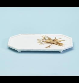 Bamboo Fretwork Serving Platter
