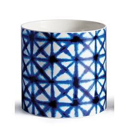 """Napa Home & Garden Blue Mood Navy Diamond Cachepot 6.25"""""""