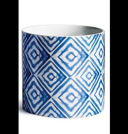 """Napa Home & Garden Blue Mood Diamond Cachepot 6.25"""""""