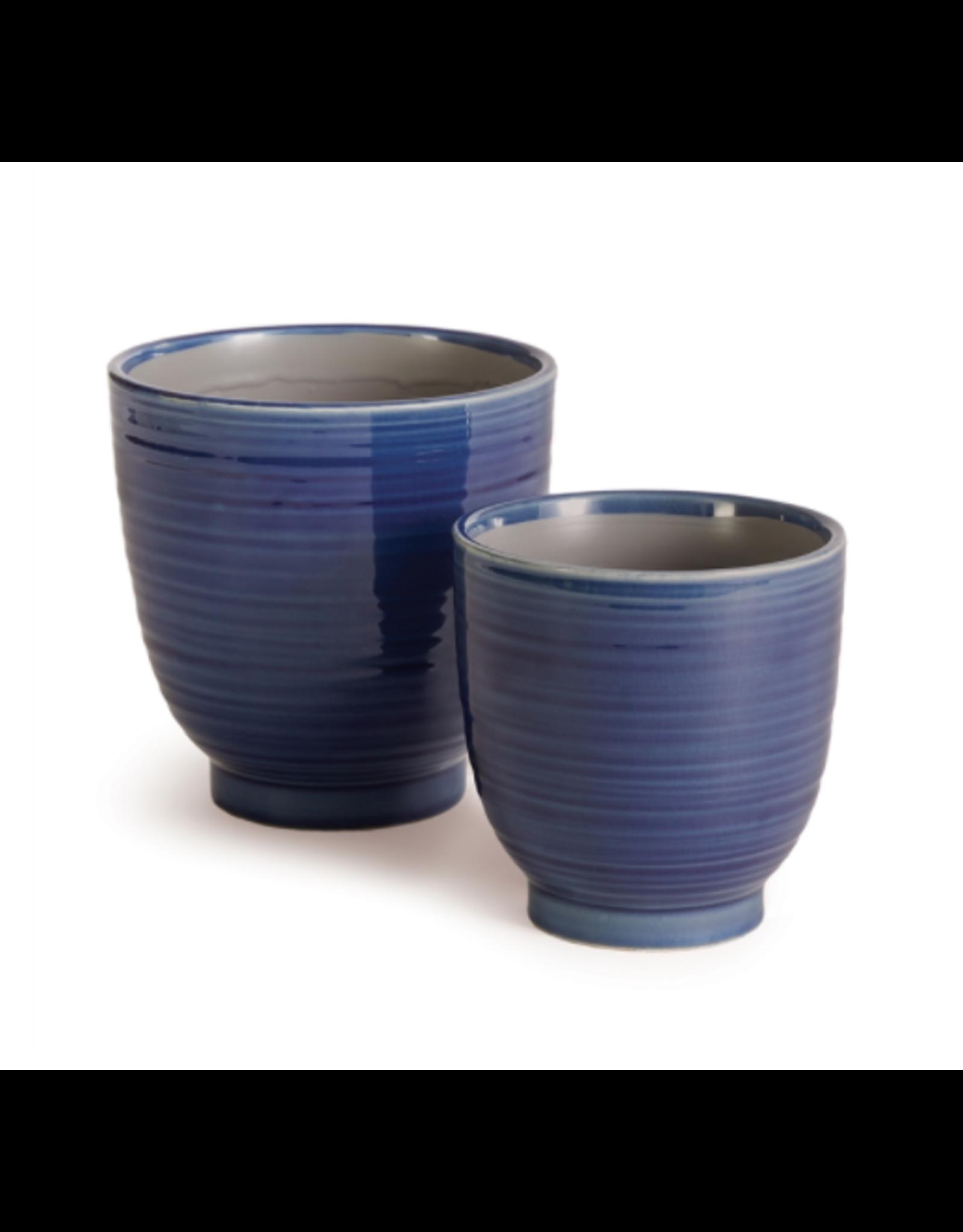 Napa Home & Garden Aubrey Pot in Blue 5.5 x 5.5 x 5.5