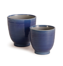 Napa Home & Garden Aubrey Pot in Blue 5.5 x 5.5 x 5.5