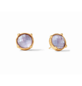 Julie Vos Honey Stud in Iridescent Lavender by Julie Vos