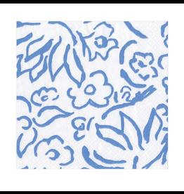 Caspari Matisse in Blue Cocktail Napkin
