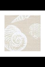 Caspari Shells in Sand Cocktail Napkins