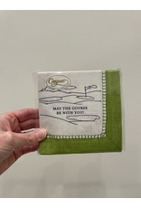 Caspari May The Course Be With You Napkin