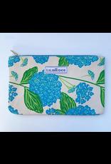 Lilibridge Hydrangea Blue Clutch by Lilibridge