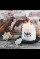 Farm + Sea Basil + Lavender Large Candle by Farm + Sea