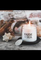 Farm + Sea Coastal Lilac Large Candle by Farm + Sea