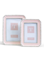 Victoria Frame in Pink  5x7