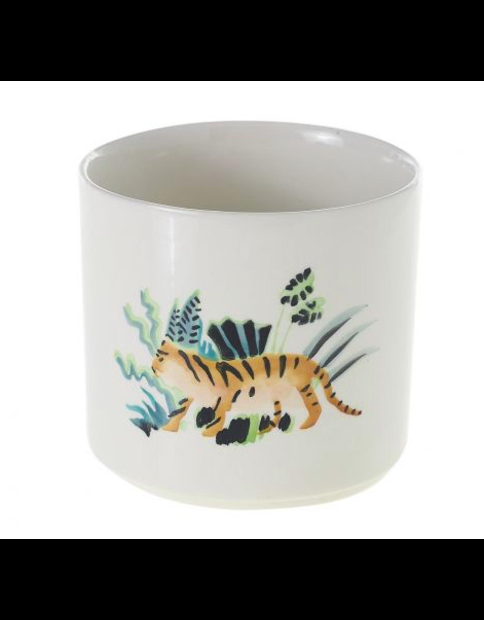 Panthera Pot 5 x 4 Tiger