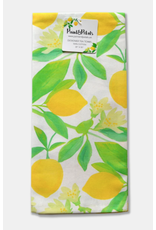Paint & Petals Lemon Tea Towel