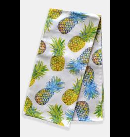 Paint & Petals Pineapple Tea Towel