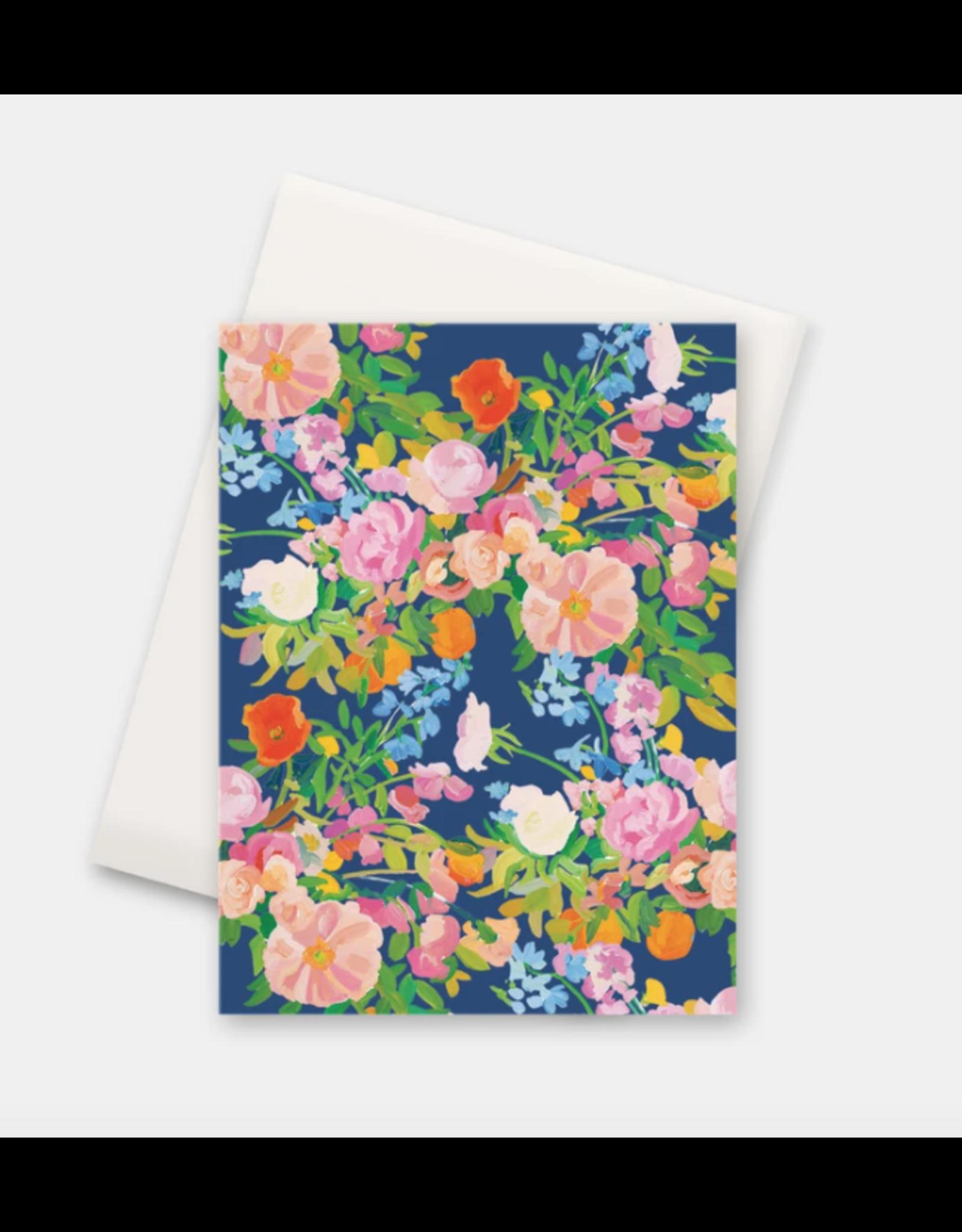 Paint & Petals Galaxy Blue Floral Card Box Set