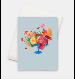 Paint & Petals Tropical Bouquet Card