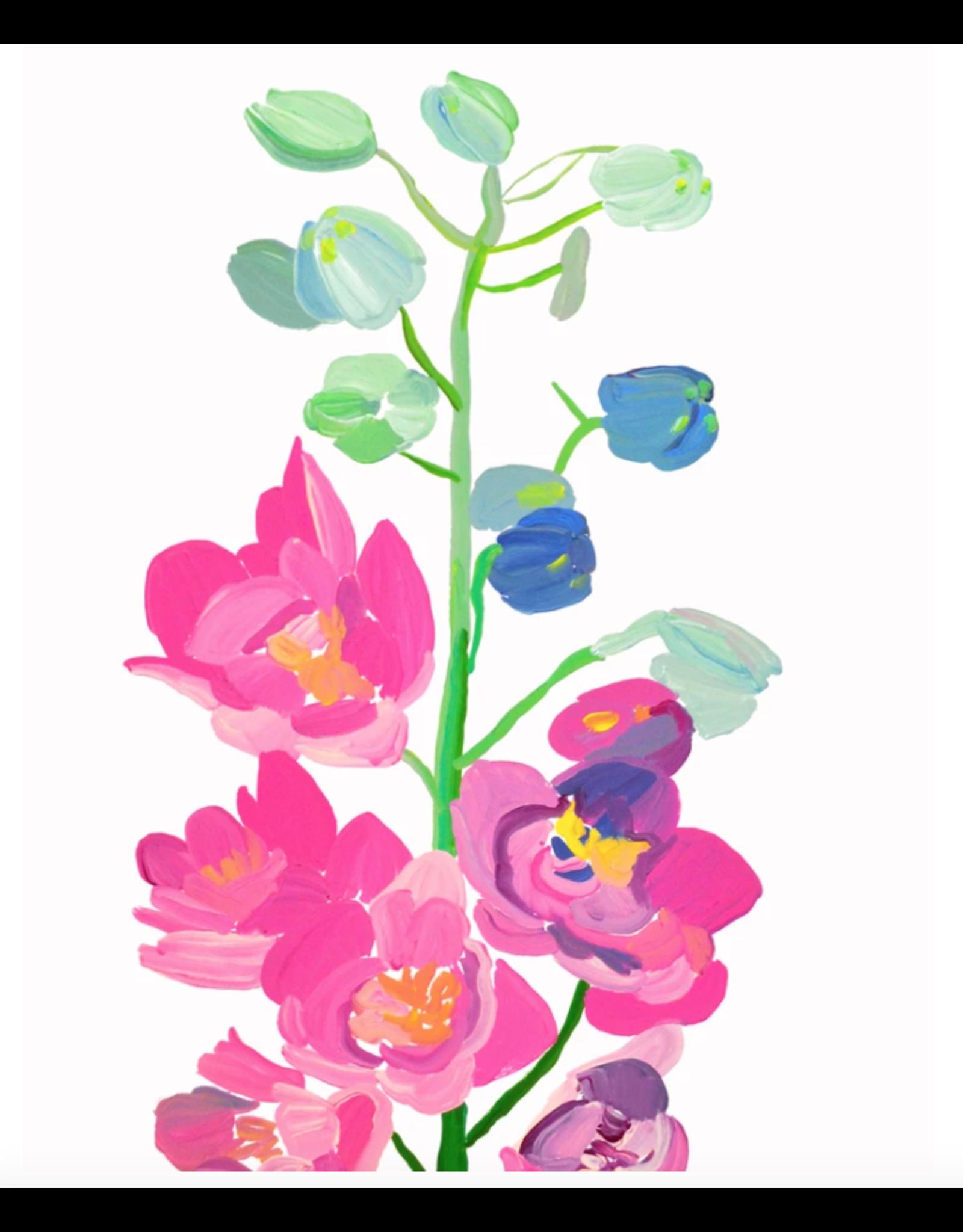 Paint & Petals Daybreak in Pink Card
