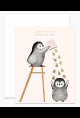 Dear Hancock Best Birthday Fishes Card