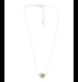 Hazen & Co Annie Necklace in Silver by Hazen & Co