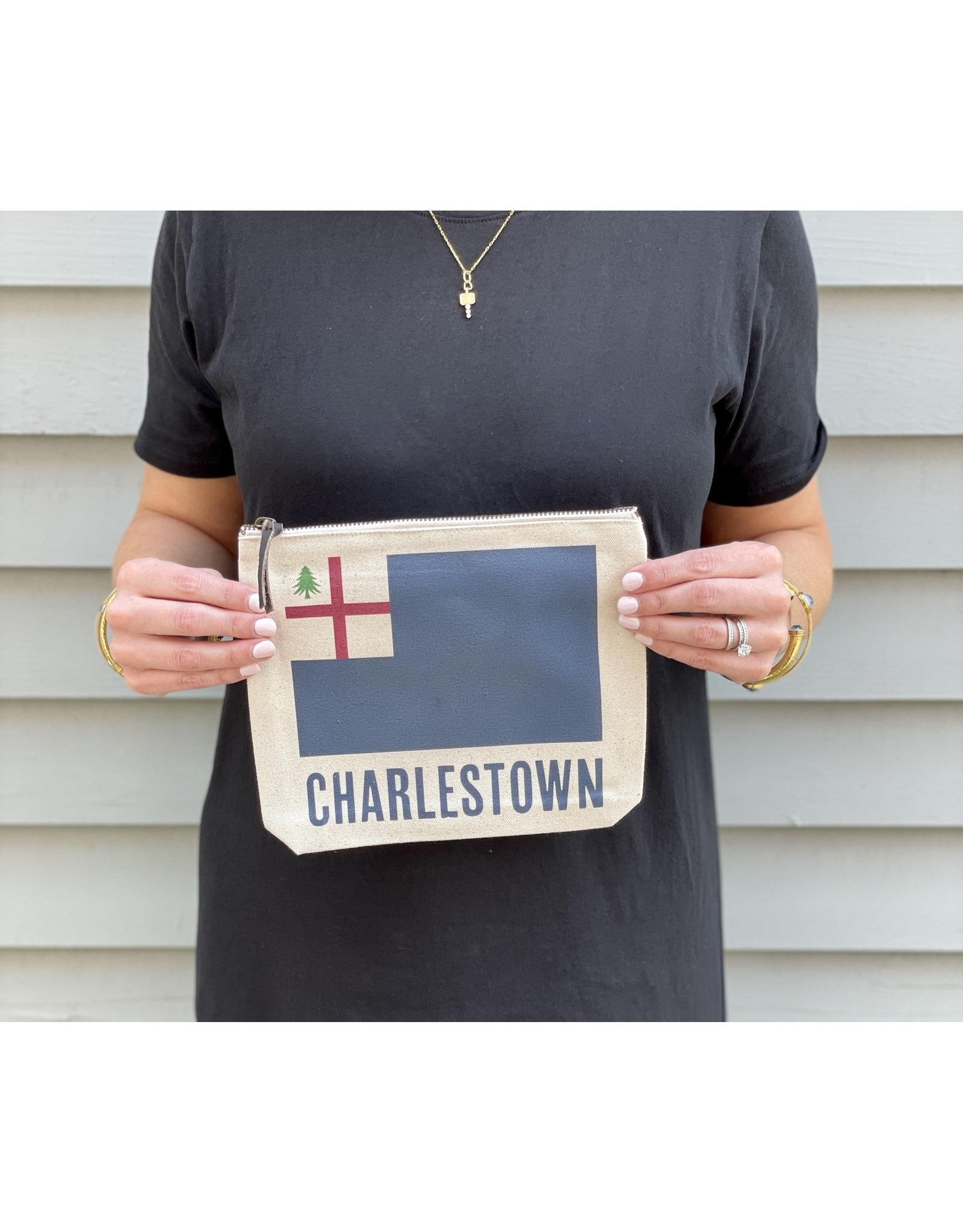 Potluck Press Charlestown Flag Pouch