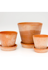 Bergs Potter Julie Pot in Rose + Saucer by Bergs Potter