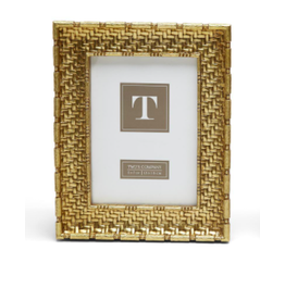 "Gold Weave  Frame 5"" x 7"""