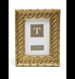 "Gold Weave Frame 4"" x 6"""
