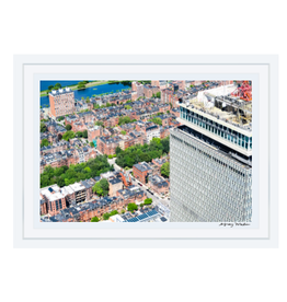 Gray Malin Prudential Building Over Back Bay by Gray Malin 11.5x17