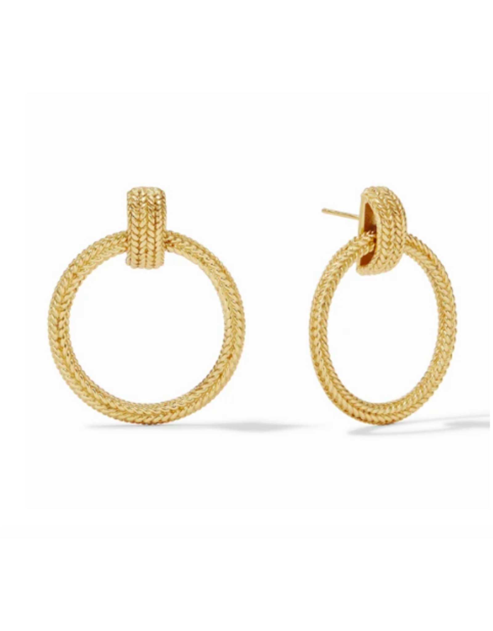 Julie Vos Windsor Doorknocker Earring by Julie Vos