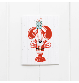 Ramus & Co Lobstah Santa Card