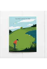 Ramus & Co You're a Hole in One Card