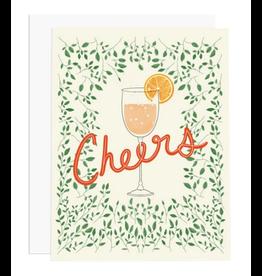 Ramus & Co Cheers Greenery Card