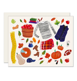 Slightly Stationery Fall Essentials Card