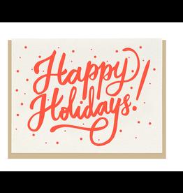 Dahlia Press Holiday Script Card