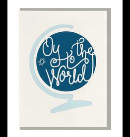 Dahlia Press Oy To the World Card