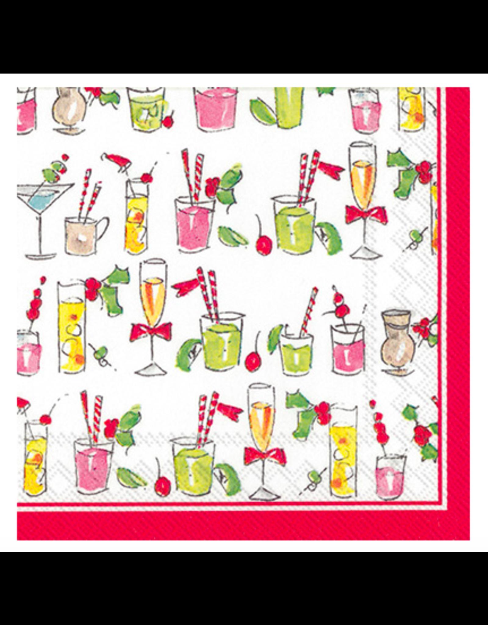 Boston International Fun Cocktails Cocktail Napkins