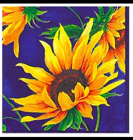 Boston International Sunshine Blue Cocktail Napkins