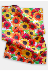 Paint & Petals Sunflower Tea Towel
