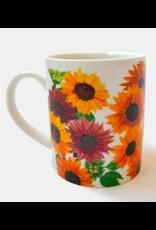 Paint & Petals Coffee Mug in Sunflowers