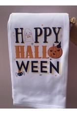 RoseanneBECK Collection Happy Halloween Icons Tea Towel