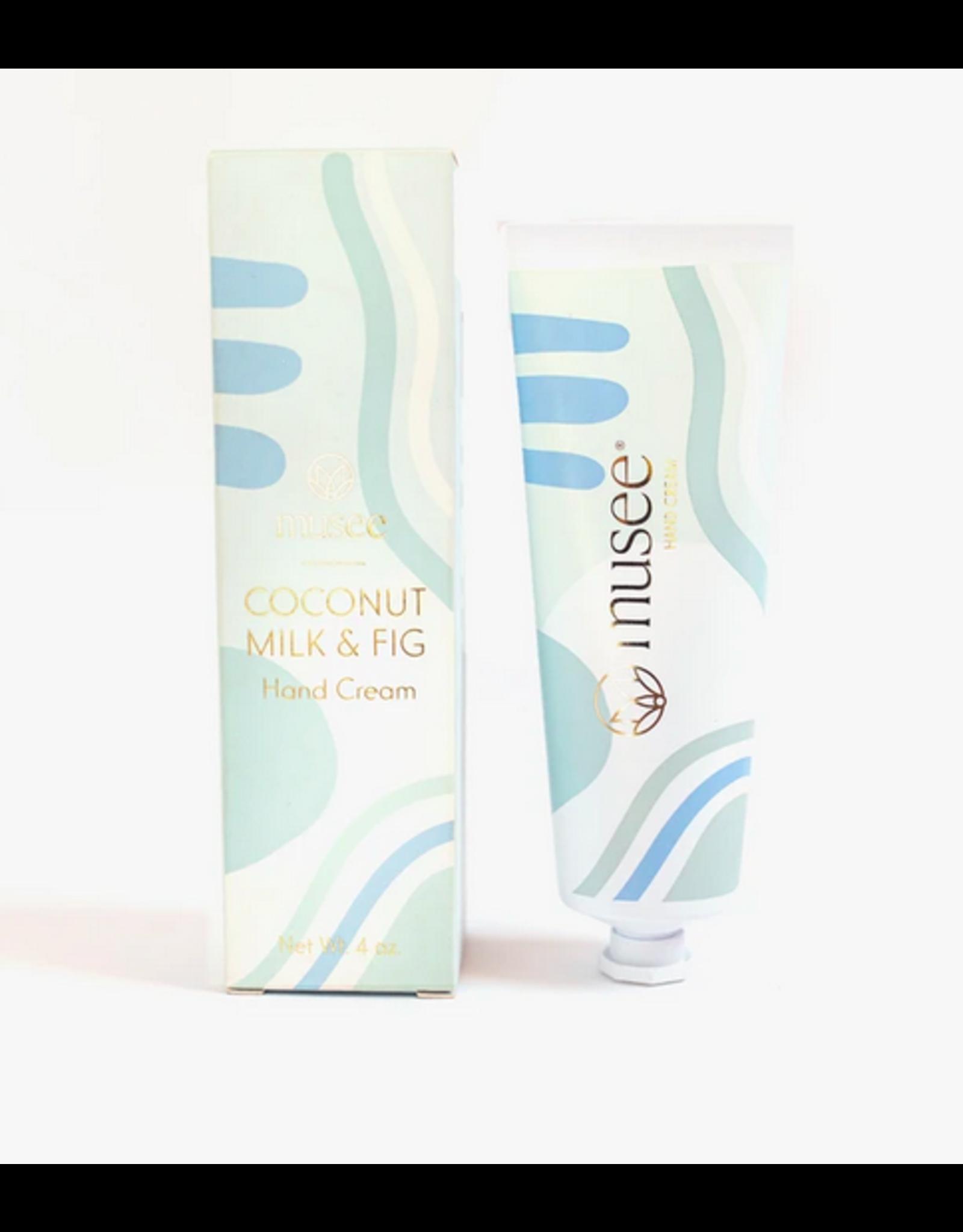 Musee Coconut Milk + Fig Hand Cream
