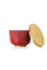 Thymes Simmered Cider Poured Candle Tin with Gold Lid