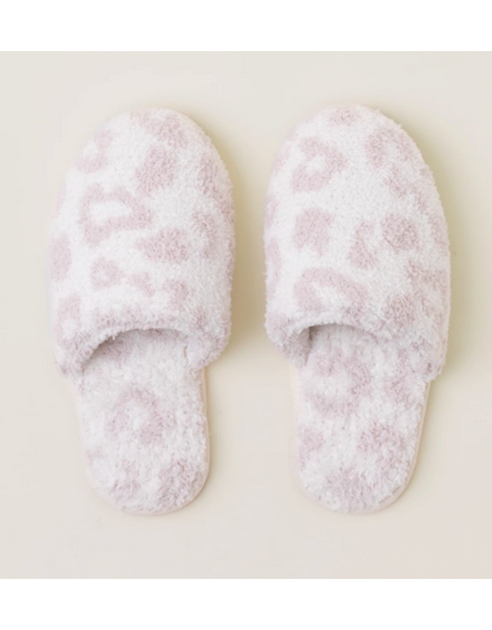 Barefoot Dreams CozyChic Slippers in Cream Stone L (9/10)