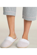 Barefoot Dreams CozyChic Malibu Slippers in Stone L (9/10)